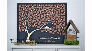 wedding guest book picture frame wooden guest book wedding guest book wooden tree frame