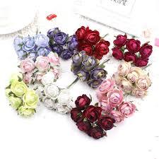 aliexpress com buy 60 pieces batch silk flower artificial