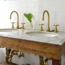 bathroom with gold fixtures u2013 paperobsessed me