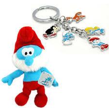 keyring keychain smurfs toys ebay