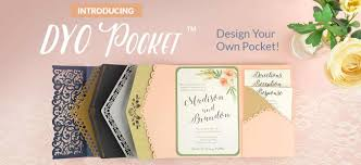 pocket invitation kits wedding invitations awesome wedding invitation pocket kits ideas