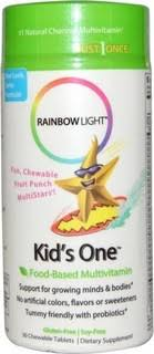 rainbow light kids one megafood kids one daily 30 tablets price in saudi arabia compare