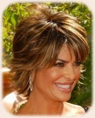 hair with shag back view lisa rinna hairstyle back view lisa rinna messy short shag