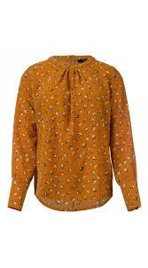 bird blouse dorothy bird print blouse in ochre dayz