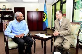 bureau president president chairs caricom bureau meeting guyana chronicle