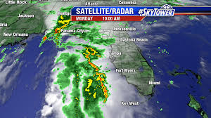 Map Of Alabama And Florida by Invest 99l Drenches Parts Of Florida U0026 Alabama Tropical