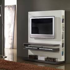 Meuble Salon Noir Et Blanc by Meuble Tv Design Laque Blanc Et Noir Quadra U2013 Artzein Com