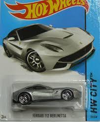 Ferrari F12 Silver - amazon com wheels hw city ferrari f12 berlinetta silver