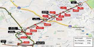Metro Bus Map by New Islamabad Airport To Get Its Own Bus Service For Rs 18 Billion