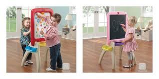 Step 2 Desk Easel Step 2 Easel Step 2 Easel For Two Red Step 2 Toys R Us Jumbo Art