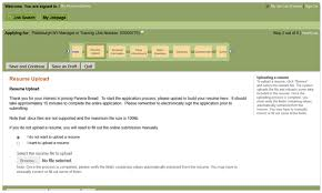 resume uploader panera bread career guide u2013 panera bread application job