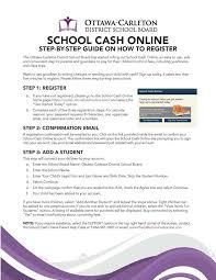 online confirmation class new schoolcash online parents guardians merivale high school