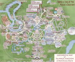 Orlando Traffic Map by This U0027judgmental Map U0027 Of Magic Kingdom Is Pretty Accurate Blogs