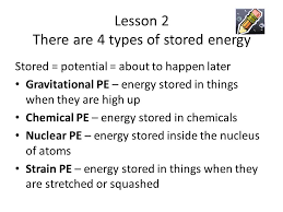 There Are Five Lights Essential Energy Lesson 1 There Are Five Forms Of Energy In
