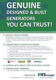 pr550p sae diesel generator pr power