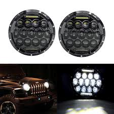 best price on jeep wrangler best price 2pcs 75w 7 headl car accessories 7 inch led