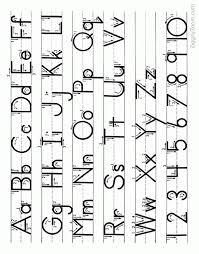pre k worksheets alphabet tracing worksheets