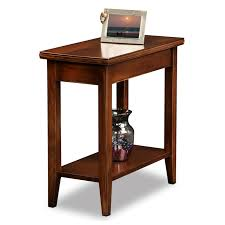 Ikea Small Bedside Tables Brown Wooden Narrow Bedside Table In An Interesting Design