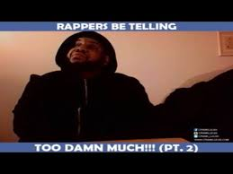 robocop electrocutes himself youtube rappers be telling too damn much pt 2 youtube