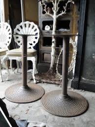 Antique Cast Iron Patio Furniture Cast Iron Patio Tables Foter