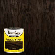 how to stain cabinets black varathane 1 qt black classic wood interior stain 349558 the home depot