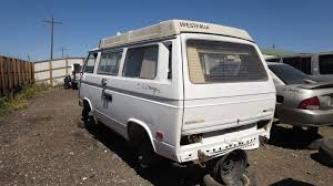 volkswagen van back junkyard find 1982 volkswagen vanagon westfalia the truth about