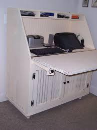 Hidden Laptop Desk by Hidden Laptop Desk Hideaway Computer Desk Mobel Oak Furniture