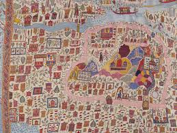 Map Fabric The Fabric Of India Exhibition At V U0026a Victoria And Albert Museum