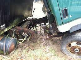 what to do if your truck frame is rusted out isuzu npr nrr truck