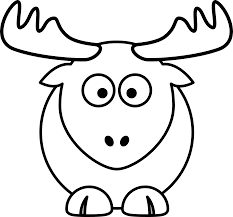 picture of a raindeer free download clip art free clip art