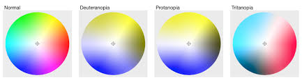 Examples Of Color Blindness Choosing Colors