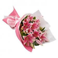 stargazer bouquet pink stargazer lilies bouquet raphael s gifts philippines