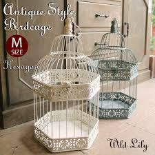 rakuten global market antique bird cage hexagon size