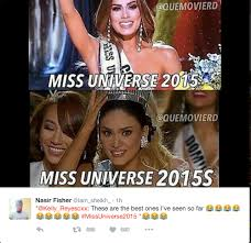 Simbang Gabi Memes - missuniverse2015 epic fail and the funniest memes