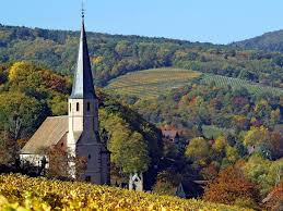 church in alsace france wallpapers and images wallpapers