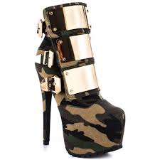 womens boots green s high heel zip boots fashion ankle boots with army green