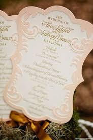 Paper Fan Wedding Programs Love These Wedding Fan Programs Flourish Die Cut 9