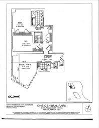 time warner center floor plan 80 columbus circle apt 75e new york ny 10023 sotheby s