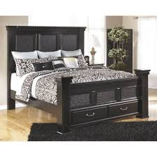 mansion king bed with fb storage
