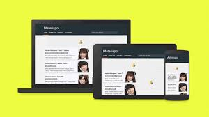 templates blogger material design materispot material design blogger templates kaizentemplate