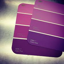 buying purple paint samples for my bathroom candy violet or