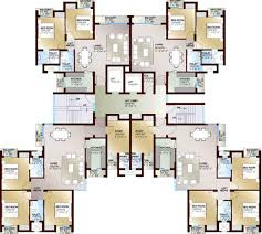 Celebrity House Floor Plans by Ansal Celebrity Greens By Ansal Api In Sushant Golf City Lucknow