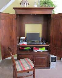 Computer Desk Armoire by 100 Armoire Tv Furniture Natural Brown Wood Tv Armoire With