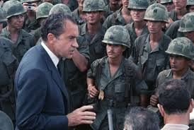 president richard m nixon americans in the vietnam war
