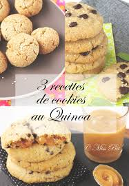 recettes de cuisine sur 3 3 recettes de cookies avec du quinoa miss pat