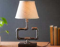 Rustic Decor Accessories Edison Lamp Rustic Decor Unique Table Lamp Industrial