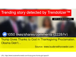 gives thanks to god in thanksgiving proclamation obama