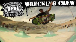 lexus barcelona skatepark real skateboards wrecking crew http dailyskatetube com real