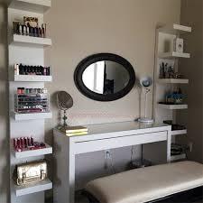 7 ikea inspired diy makeup storage ideas
