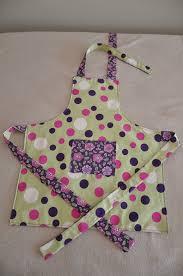 patron tablier de cuisine enfant pancake suzette couture